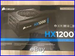 CORSAIR HXi Series HX1200i 1200W 80 PLUS PLATINUM Full Modular ATX NEWithSEALED