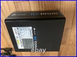 CORSAIR HXi Series Power Supply PSU, HX1000i, 1000 Watt, 80+ Platinum Certified