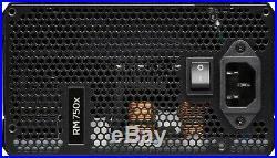 CORSAIR PSU RM750X 750W GOLD Modular Power Supply PSU