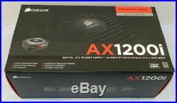 CORSAIR Platinum AXi Series AX1200i 1200 Watt Modular Power Supply 80+