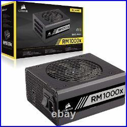 CORSAIR RM1000X 1000W 80 PLUS GOLD Haswell Ready Full Modular Power Supply PSU