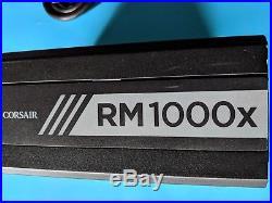 CORSAIR RM1000X 1000W PSU 80+ GOLD ATX12V Fully Modular FAST SHIPPING