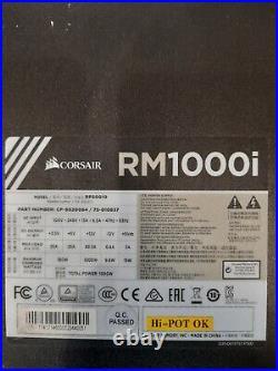 CORSAIR RM1000i GOLD MODULAR ATX POWER SUPPLY UNIT PSU 1000W