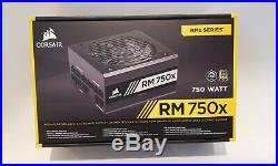 CORSAIR RM750x 750W Modular ATX Power Supply Part No CP-9020179-UK