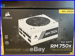 CORSAIR RMX RM750x, 750 Watt, Fully Modular White Series Power Supply