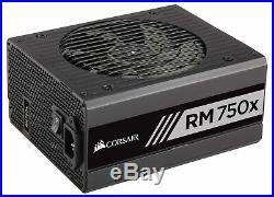 CORSAIR RMX Series, RM750x, 750 Watt, 80+ Gold Certified, Modular Power Supply