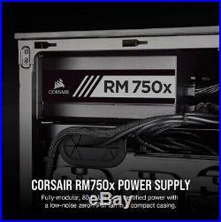CORSAIR RMX Series, RM750x, 750 Watt, 80+ Gold Fully Modular Power Supply