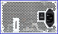 CORSAIR RMX White Series (2018), RM850x, 850 Watt, 80+ Gold Certified, Fully