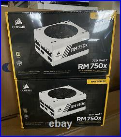CORSAIR RMX White Series RM750x 750 Watt, Fully Modular Power Supply IN HAND