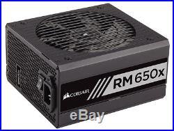 CORSAIR RMx RM650X 650W ATX12V / EPS12V 80 PLUS GOLD Certified Full Modular Powe