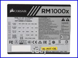 CORSAIR RMx Series RM1000X 1000W 80 PLUS GOLD Haswell Ready Full Modular ATX12V