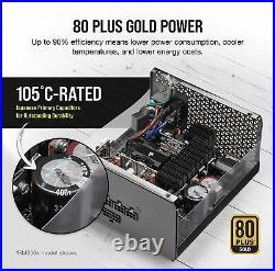 CORSAIR RMx Series RM1000x 80 PLUS Gold Fully Modular ATX Power Supply Black
