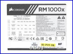 CORSAIR RMx Series RM1000x CP-9020094-NA/RF 1000W ATX12V 80 PLUS GOLD Certified