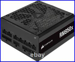 CORSAIR RMx Series RM850x 80 PLUS Gold Fully Modular ATX Power Supply Black