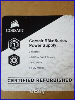 CORSAIR RMx Series RM850x CP-9020180-NA 850W ATX12V (Refurbished)
