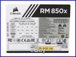 CORSAIR RMx White Series RM850x White (CP-9020188-NA) 850W 80 PLUS Gold Certifie