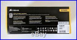 CORSAIR SF Series SF600 600 Watt 80 PLUS Platinum SFX PSU (CP-9020182-NA)