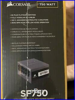 CORSAIR SF750 750 Watt SFX 80+ Platinum Certified Fully Modular Power Supply
