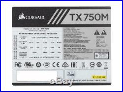 CORSAIR TX-M Series TX750M (CP-9020131-NA) 750W ATX12V v2.4 / EPS 2.92 80 PLUS G