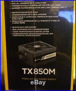 CORSAIR TX850M TX-M Series Modular 850 Watt Power Supply NEW IN BOX