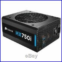 Corsair 750W Hx750I Power Supply High Performance 80+ Platinum Digital Psu Black