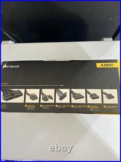 Corsair AX 850 80+ Gold Certified Fully Modular Power Supply ATX 850 Watt