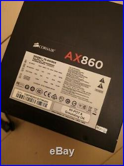 Corsair AX 860 860W Platinum Fully Modular PSU