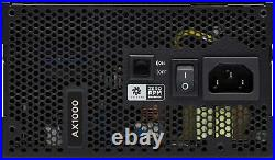 Corsair AX Series AX1000 1000 Watt 80 PLUS Titanium ATX Modular PSU