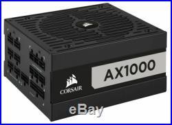 Corsair AX Series AX1000 1000 Watt 80 PLUS Titanium Certified Fully Modular