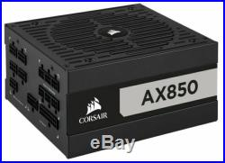 Corsair AX Series AX850 850 Watt 80 PLUS Titanium Certified Fully Modular ATX