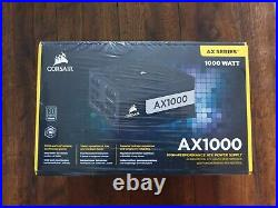 Corsair AX1000 1000 Watt 80 PLUS Titanium Certified Fully Modular ATX PSU