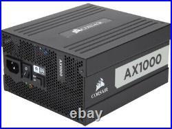 Corsair AX1000 1000W 80 PLUS Titanium Certified Fully Modular ATX PSU NEW