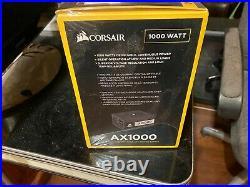 Corsair AX1000 Power Supply BRAND NEW, NEVER OPENED