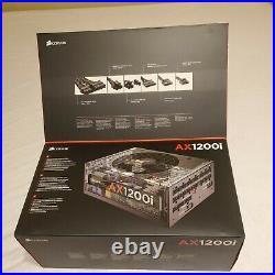 Corsair AX1200i 1200W 80+ Titanium ATX Modular Power Supply BNIB RTX Slealed