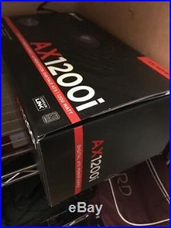 Corsair AX1200i 1200W Digital Modular PSU 80+ Platinum Certified 140mm Fan