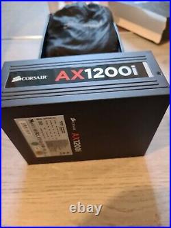 Corsair AX1200i 1200W Full Modular 80+ Platinum Power Supply & Premium Cable SET