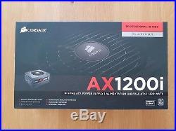 Corsair AX1200i 1200W Full Modular 80+ Platinum Power Supply -free uk post