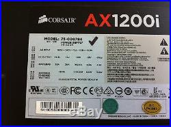 Corsair AX1200i 1200W Modular Power Supply TESTED PS1388