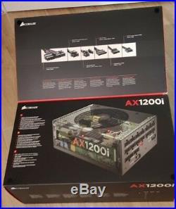 Corsair AX1200i Digital 1200 Watt Power Supply PSU Brand New CP-9020008-UK