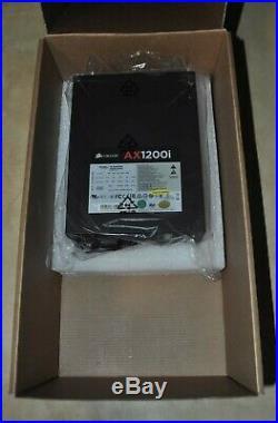 Corsair AX1200i Digital 1200W 80+ Platinum Certified Fully-Modular Power Supply