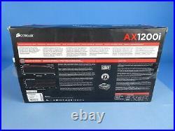Corsair AX1200i Digital ATX Power Supply 1200 Watt, with cables. PERFECT COND