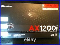 Corsair AX1200i Digital ATX Power Supply 1200W 80 PLUS PLATINUM Pro NEW