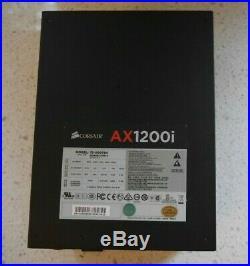 Corsair AX1200i Digital ATX power supply used 75-000784