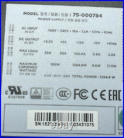 Corsair AX1200i Fully Modular Platinum Power Supply MINT LN No USB Dongle