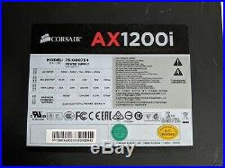 Corsair AX1200i Modular Power Supply with 24-pin, CPU, PCIe Cables j