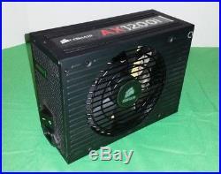Corsair AX1200i Power Supply Fully Modular, 80+ Platinum, 1200W PSU