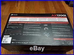 Corsair AX1200i fully Modular (1200W) Digital power supply 80+Platinum PSU (NEW)