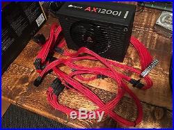 Corsair AX1200i fully Modular (1200W) Digital power supply 80+Platinum PSU RED