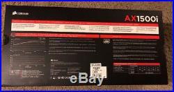 Corsair AX1500i 1500 Watt 1500W Modular Power Supply for Antminer S9 L3+ Mining