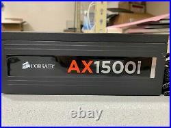 Corsair AX1500i 80+ Titanium 1500W Digital ATX Power Supply Fully-Modular